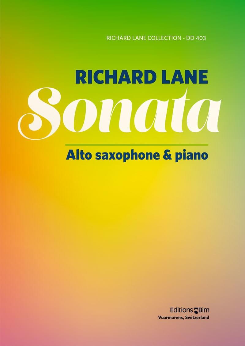 Lane Richard Sonata Alto Sax Sax14