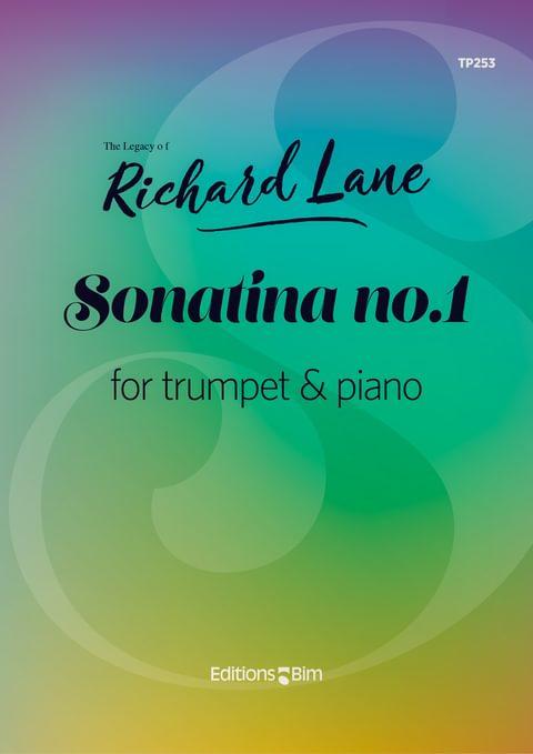 Lane Richard Sonatina No 1 For Trumpet Tp253