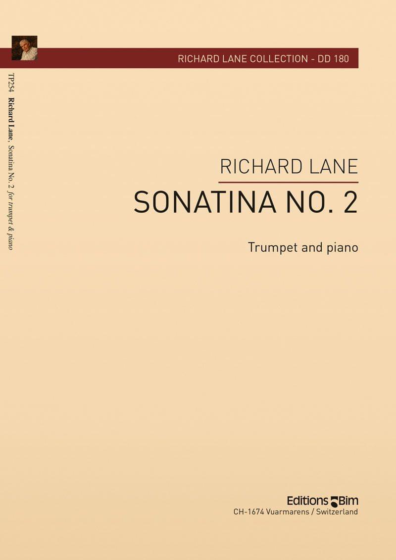 Lane Richard Sonatina No 2 For Trumpet Tp254