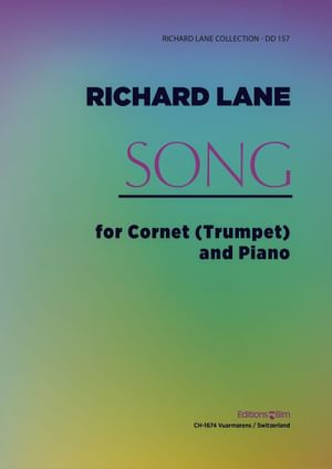 Lane Richard Song Trumpet And Piano Tp250A