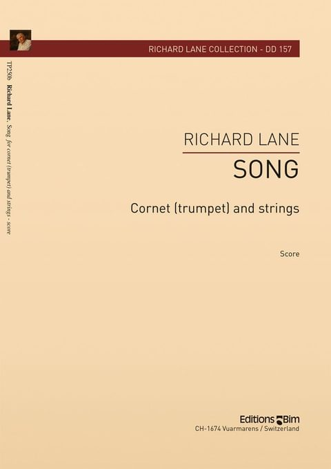 Lane Richard Song Trumpet And Strings Tp250B