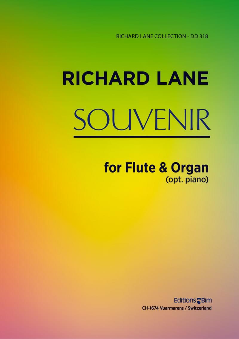 Lane Richard Souvenir Flute And Organ Fl25