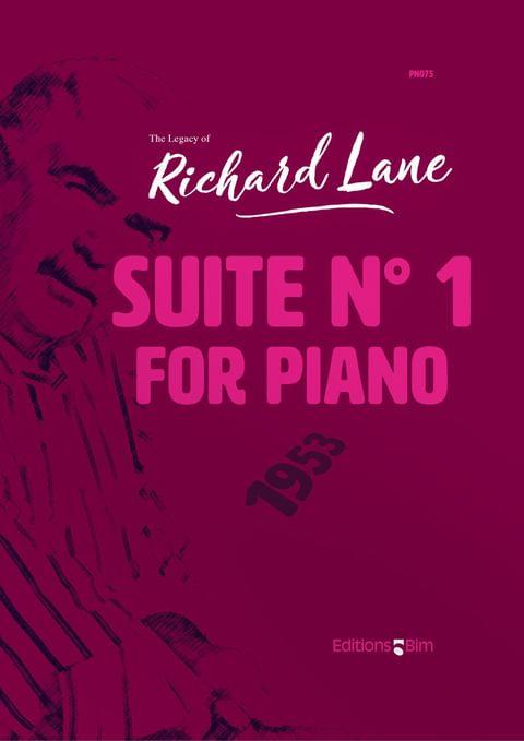 Lane Richard Suite 1 Piano Pno75