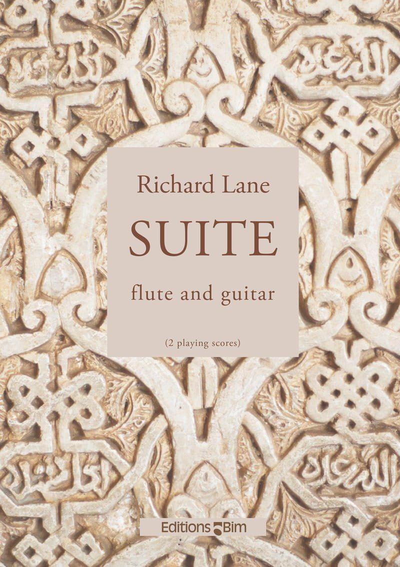 Lane Richard Suite Flute And Guitar Mcx74