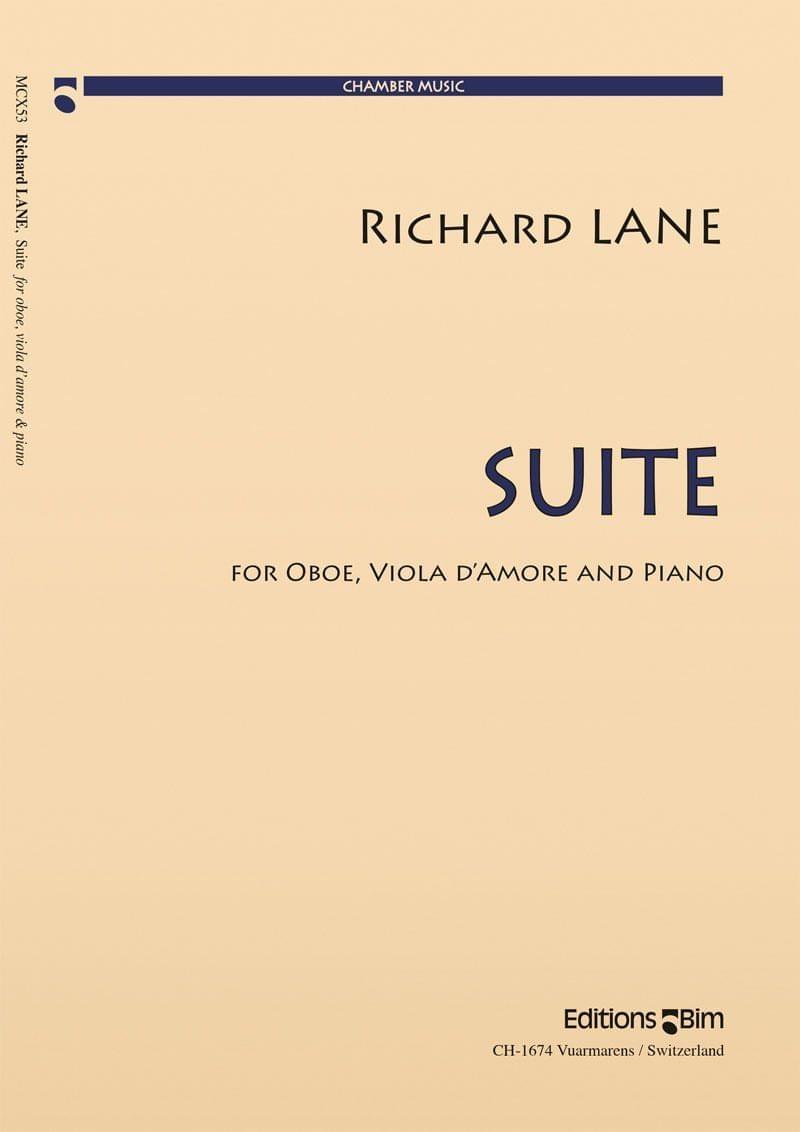 Lane Richard Suite Oboe Viola Piano Mcx53