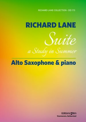 Lane Richard Suite Saxophone Piano Sax4
