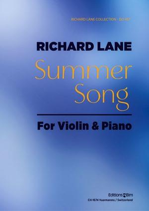 Lane Richard Summer Song Violin Vn23