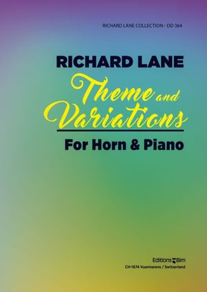 Lane Richard Theme And Variations Horn Co74