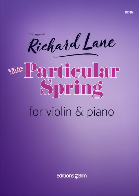 Lane Richard This Particular Spring Vn37