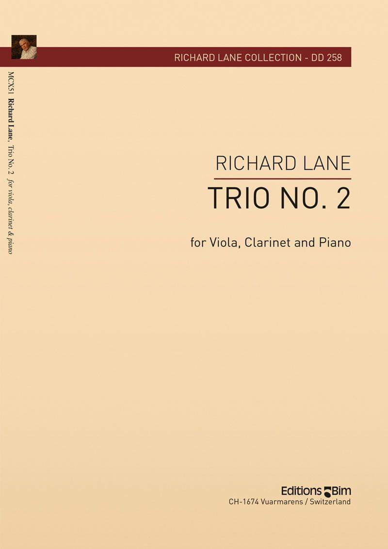 Lane Richard Trio No 2 Clarinet Viola Piano Mcx51