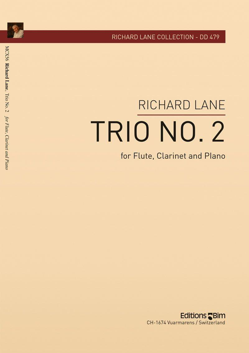 Lane Richard Trio No 2 Flute Clarinet Piano Mcx56