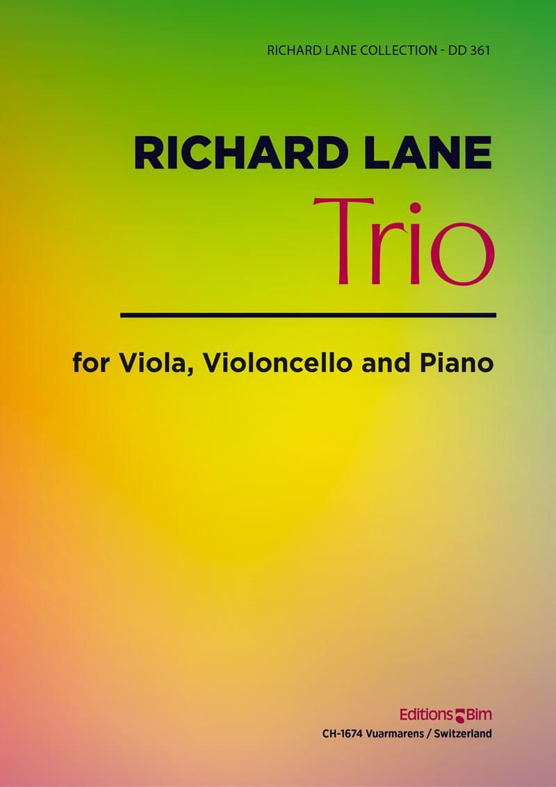 Lane Richard Trio Viola Cello Piano Mcx55