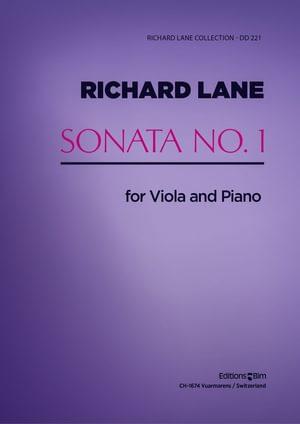 Lane Richard Viola Sonata No 1 Va10