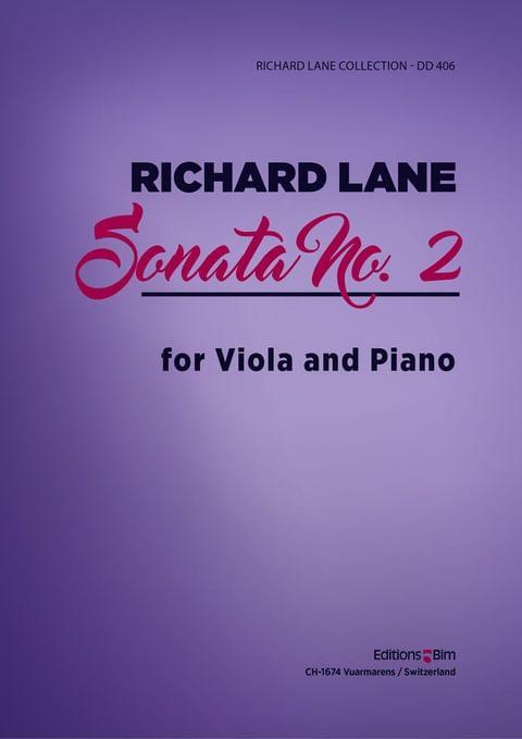Lane Richard Viola Sonata No 2 Va20