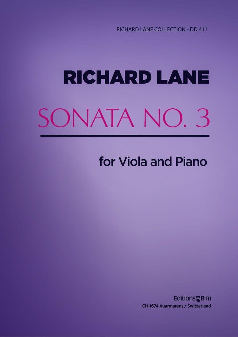 Lane Richard Viola Sonata No 3 Va14