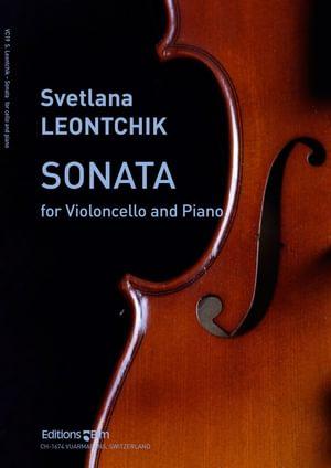 Leontchik Svetlana Cello Sonata Vc19
