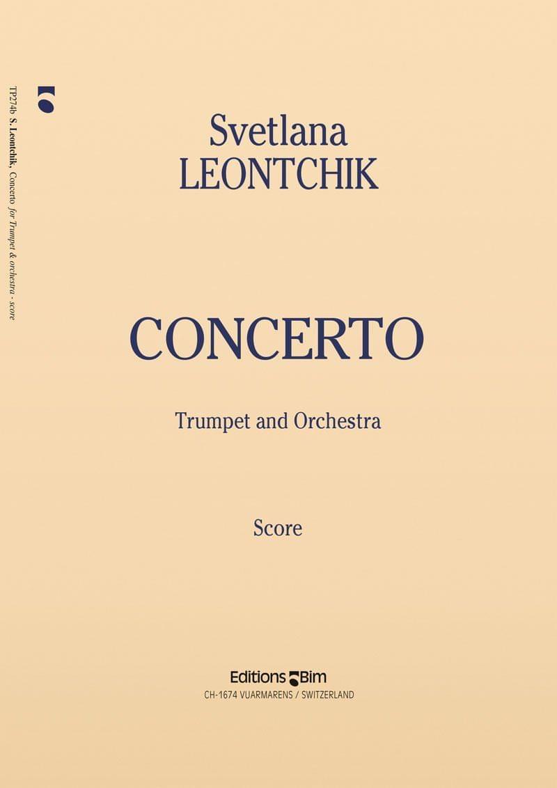 Leontchik Svetlana Trumpet Concerto Tp274