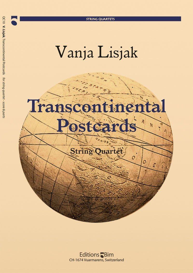 Lisjak Vanja Transcontinental Postcards Qc10