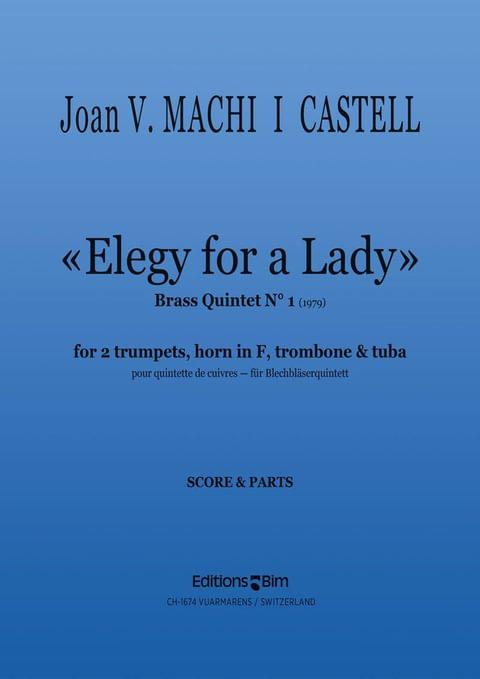 Machi I Castell Elegy For A Lady Ens44