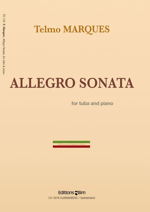 Marques Telmo Allegro Sonata Tu116