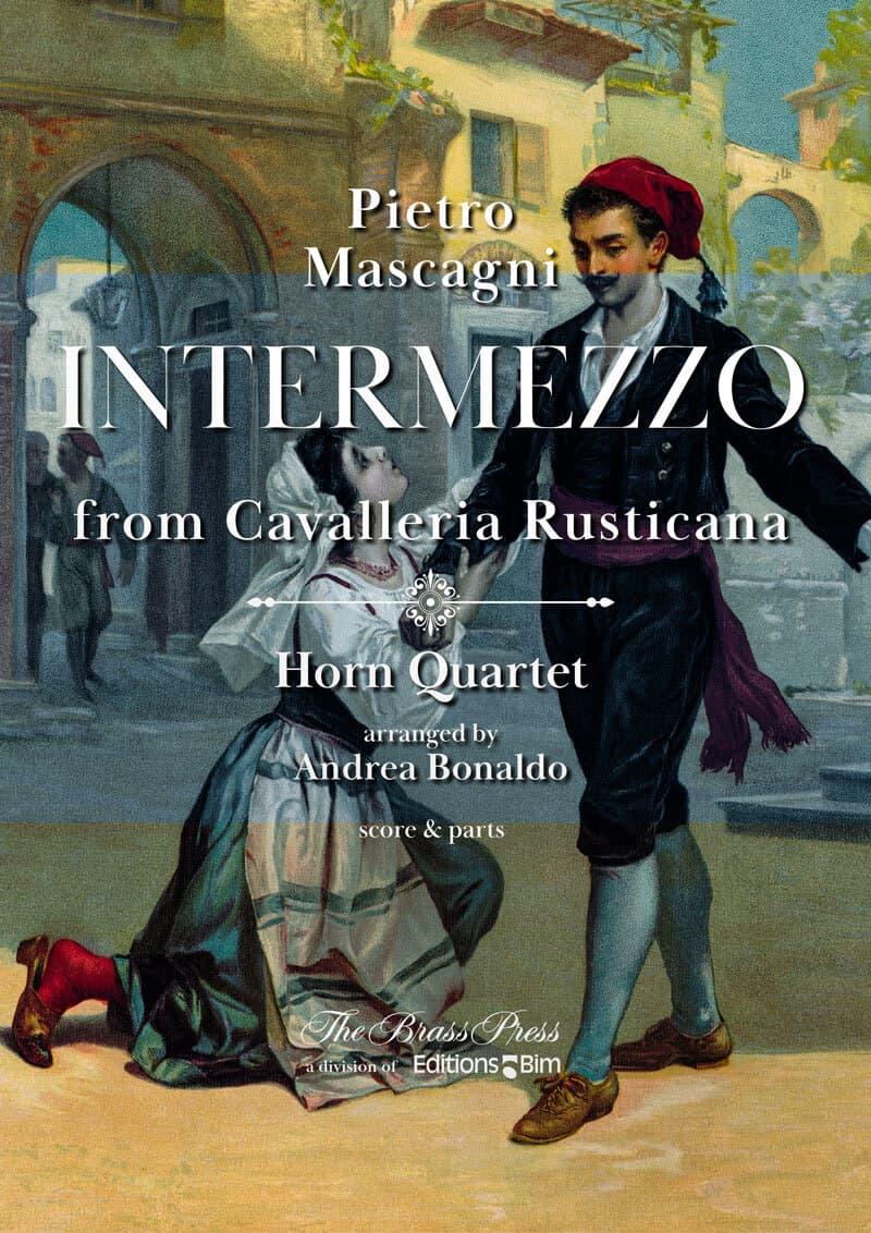 Mascagni Pietro Intermezzo Horn Quartet Co108