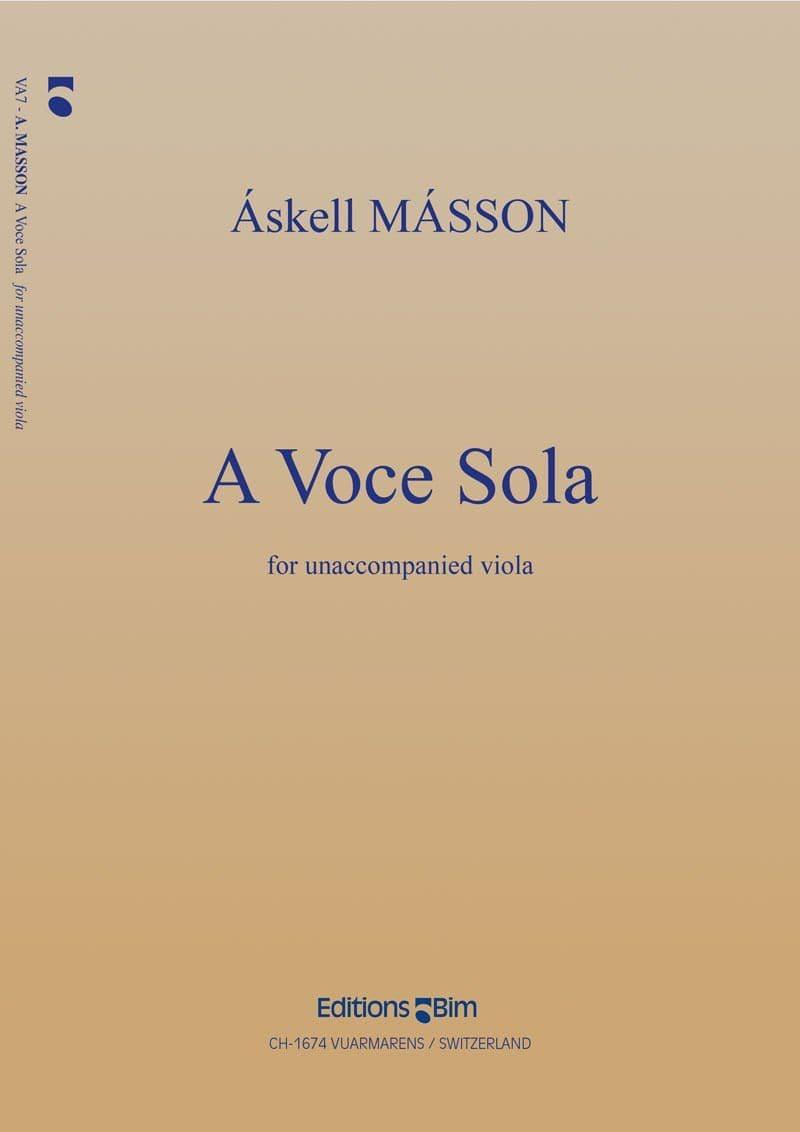 Masson Askell A Voce Sola Va7