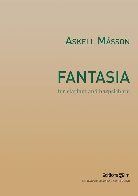 Masson Askell Fantasia Cl16