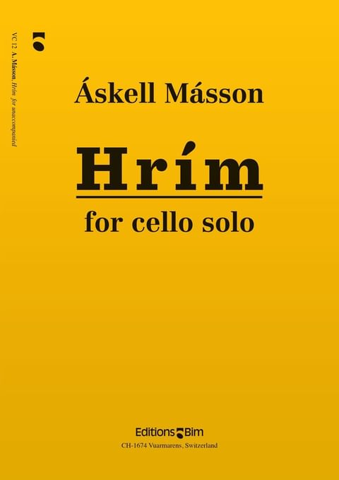 Masson Askell Hrim Vc12