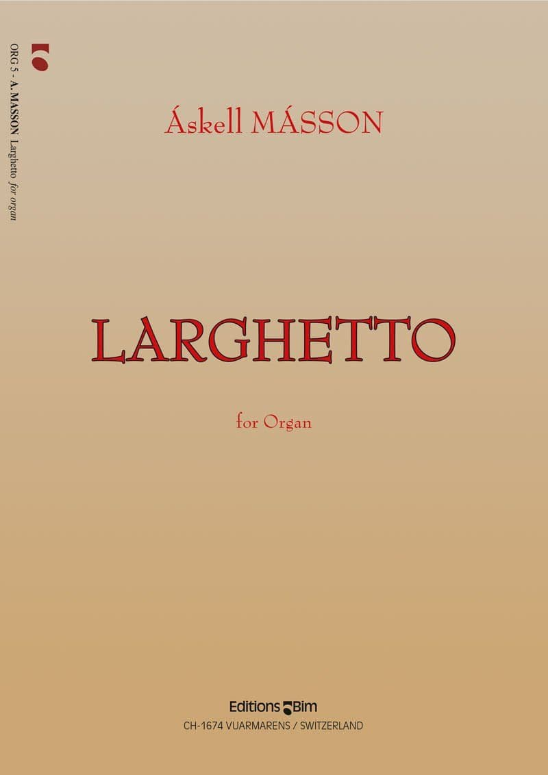 Masson Askell Larghetto Org5