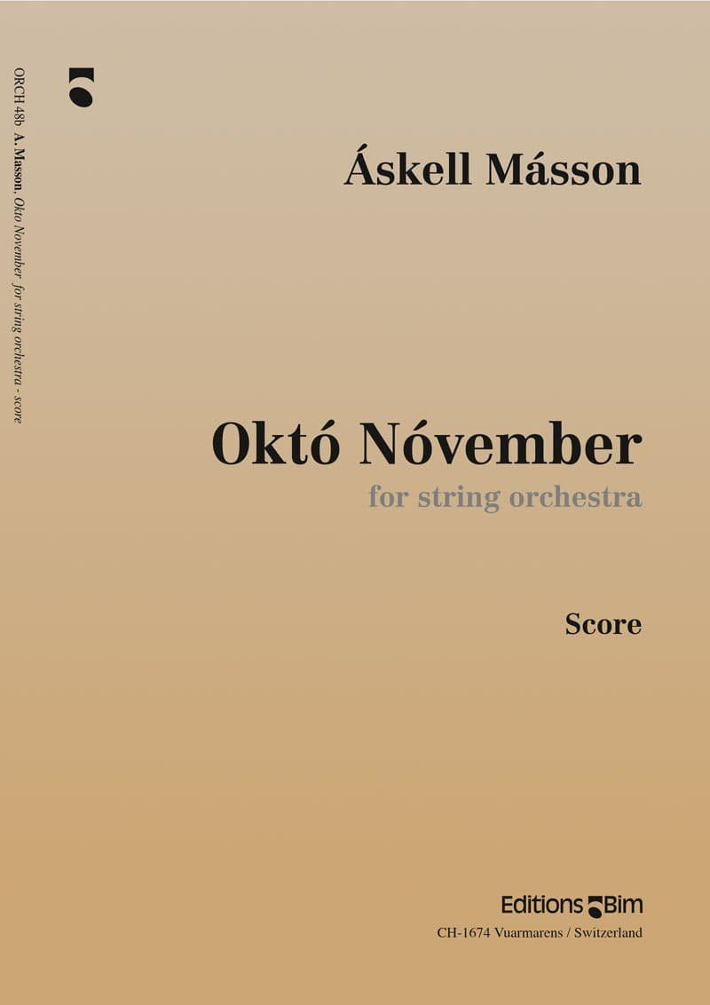Masson Askell Okto November Orch48