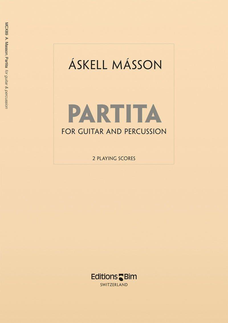 Masson Askell Partita Mcx89