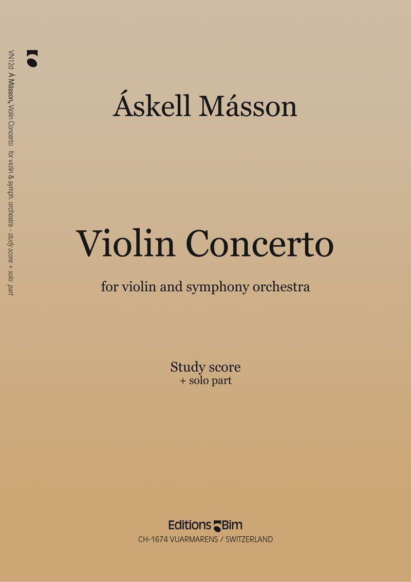 Masson Askell Violin Concerto Vn12