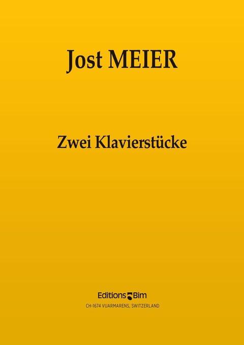 Meier Jost 2 Klavierstuecke Pno5