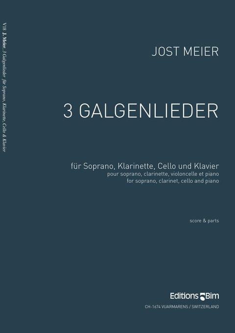 Meier Jost 3 Galgenlieder V18