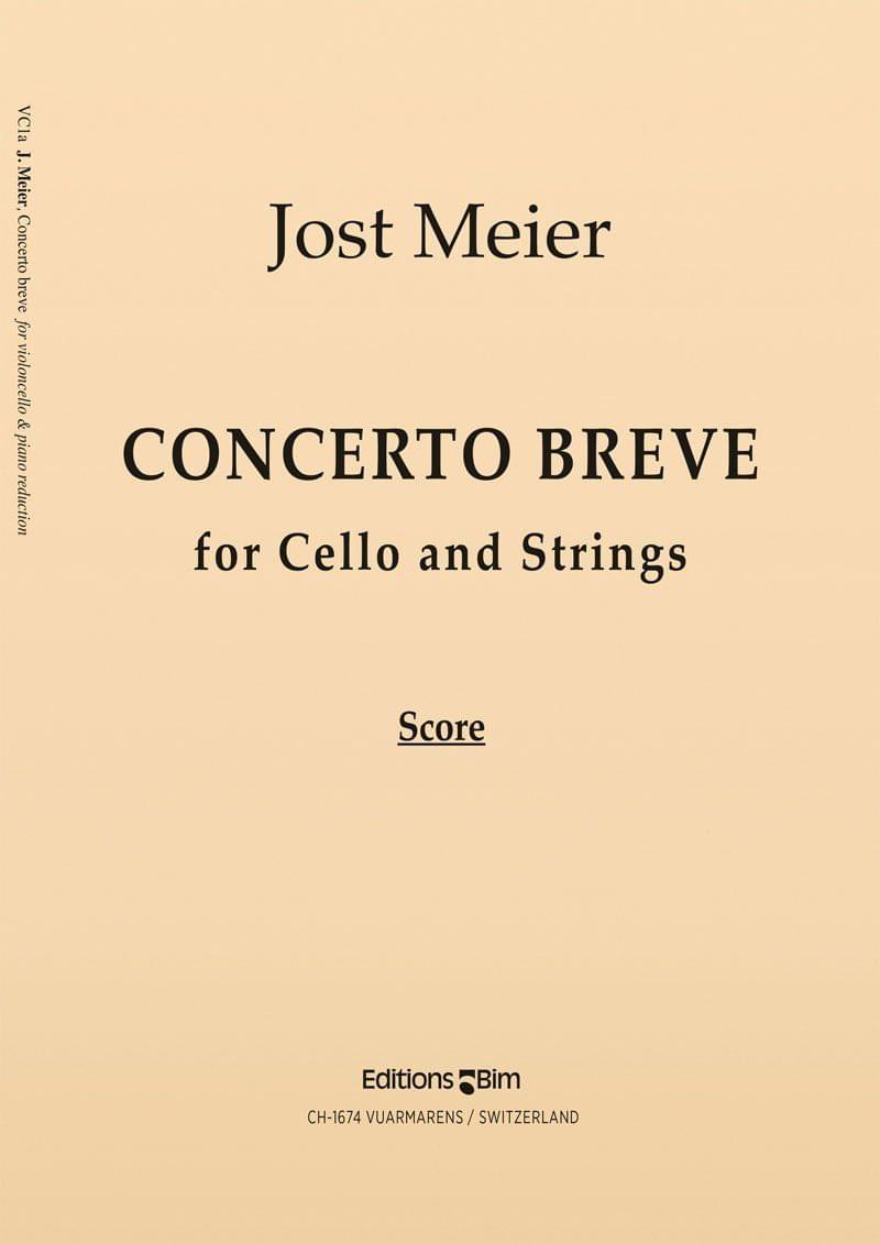 Meier Jost Concerto Breve Cello Vc1