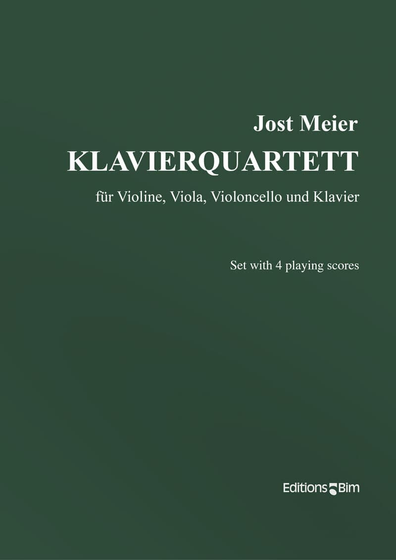 Meier Jost Klavierquartet Mcx27