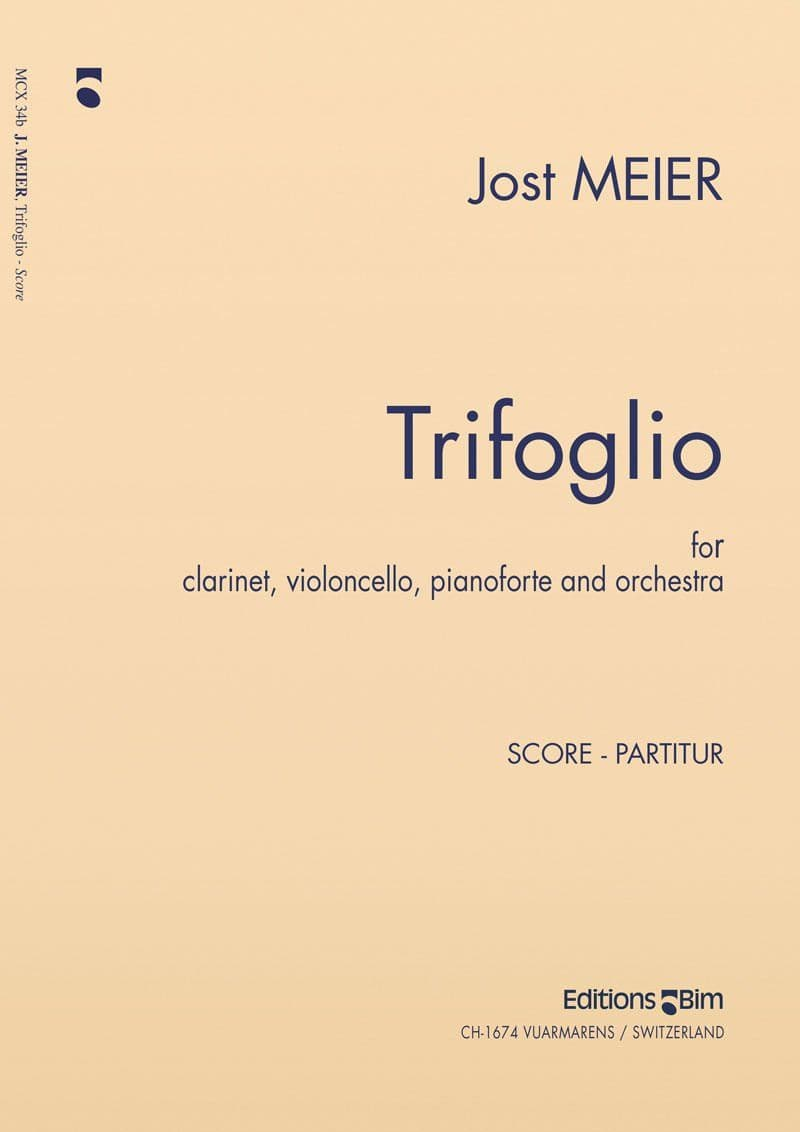 Meier Jost Trifoglio Mcx34