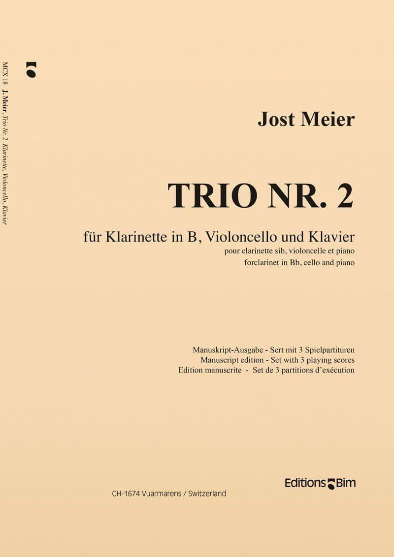 Meier Jost Trio No 2 Mcx18