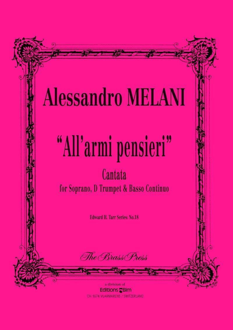 Melani Allessandro All Armi Pensieri Tp155