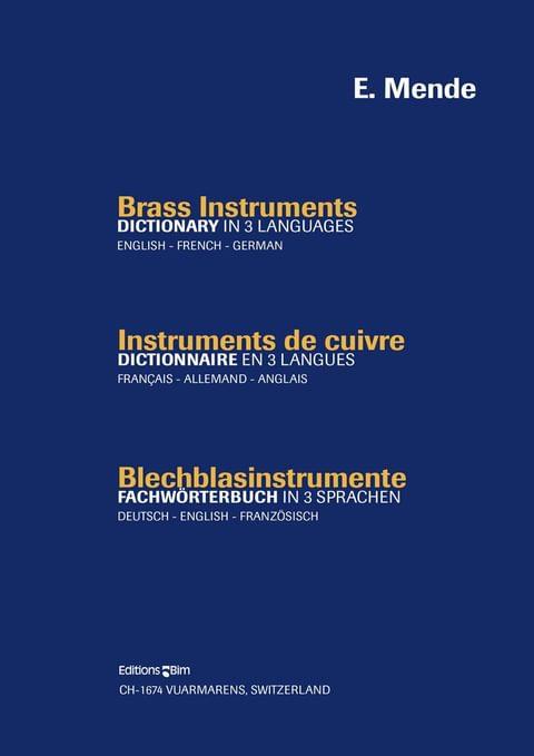 Mende Emilie Brass Instrument Dictionary Bim2