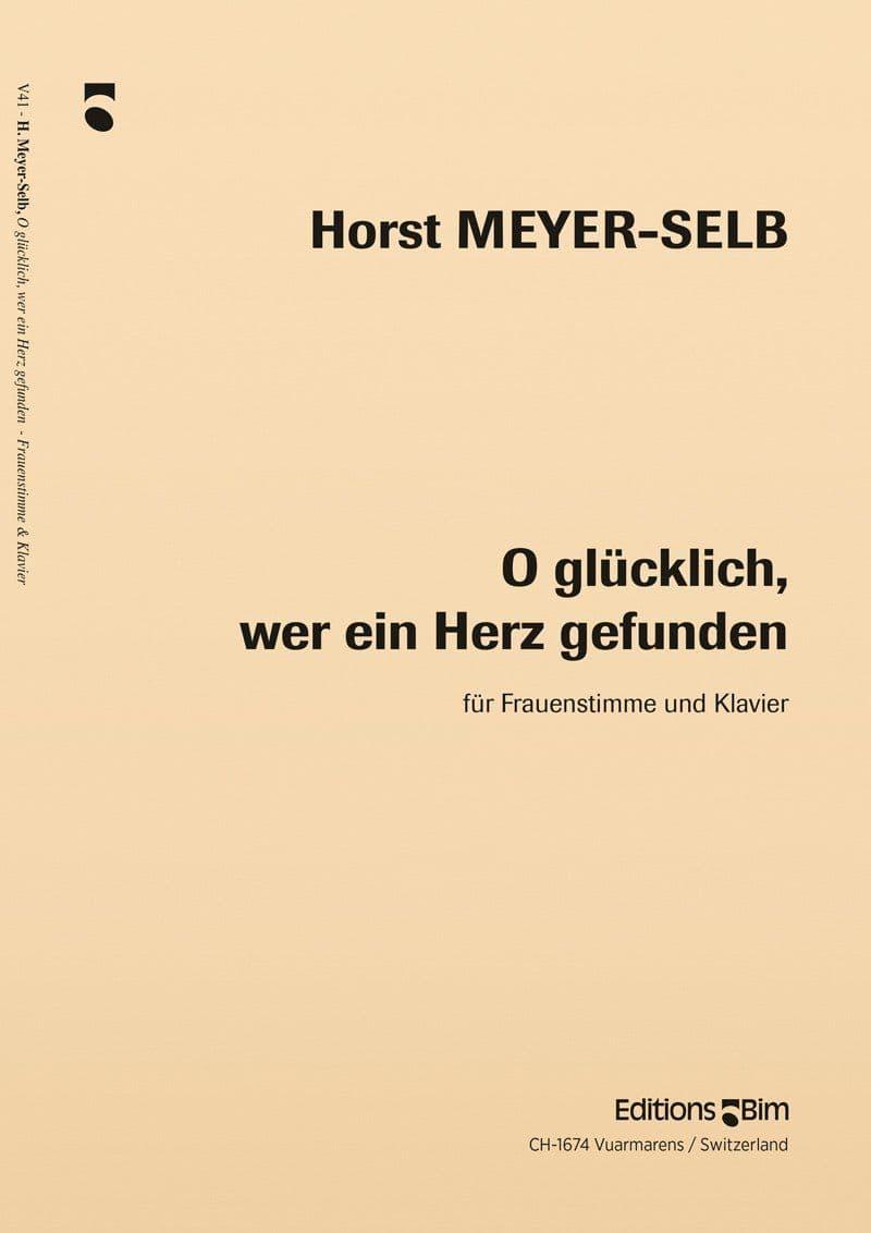 Meyer Selb Horst O Glueklich V41