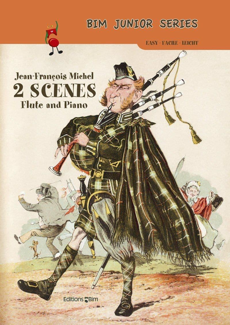 Michel Jean Francois 2 Scenes Fl47