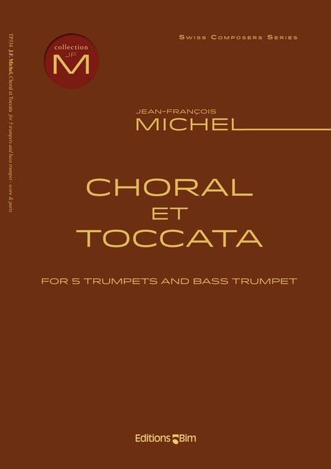 Michel Jean Francois Choral Et Toccata Tp334