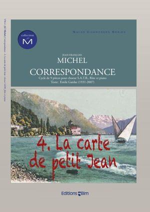Michel Jean Francois Correspondance Carte De Petit Jean V90 4
