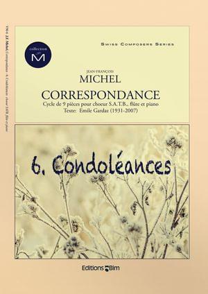 Michel Jean Francois Correspondance Condoleances V90 6