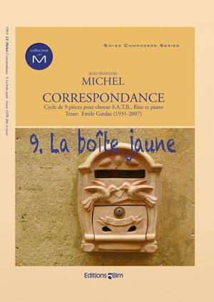 Michel Jean Francois Correspondance La Boite Jaune V90 9