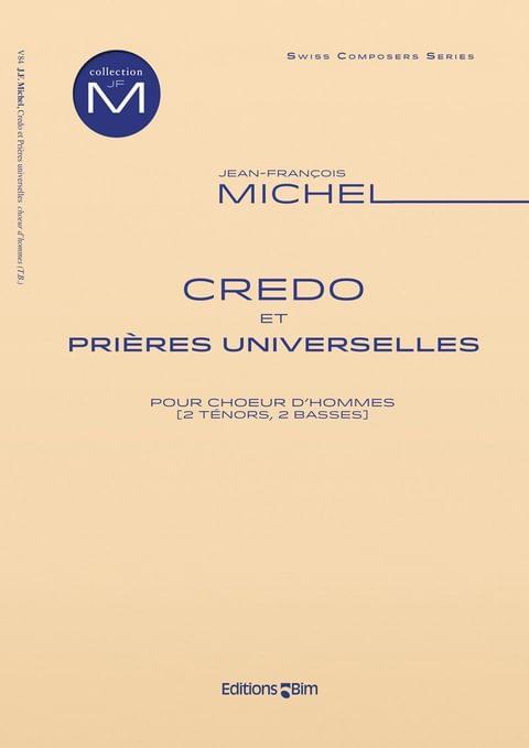 Michel Jean Francois Credo Et Prieres Universelles V84