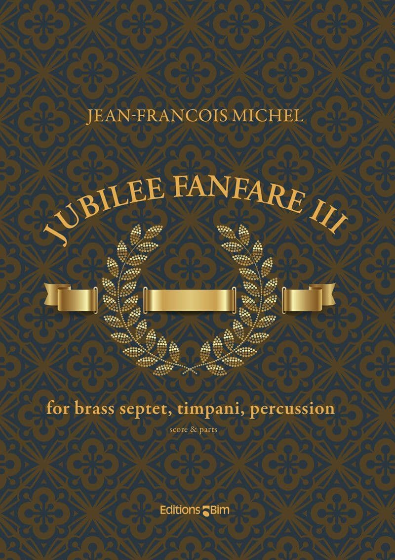 Michel Jean Francois Jubilee Fanfare Iii Ens221