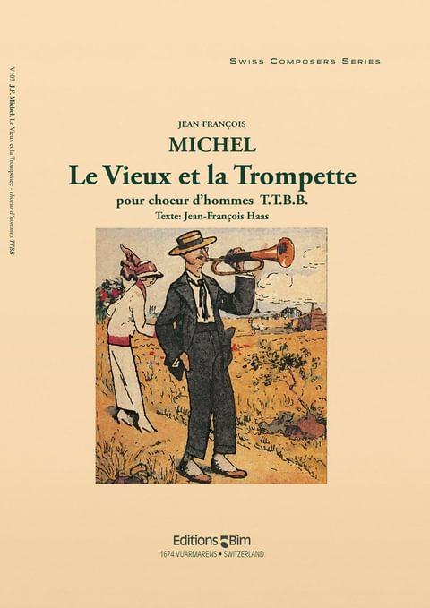 Michel Jean Francois Le Vieux Et La Trompette V107