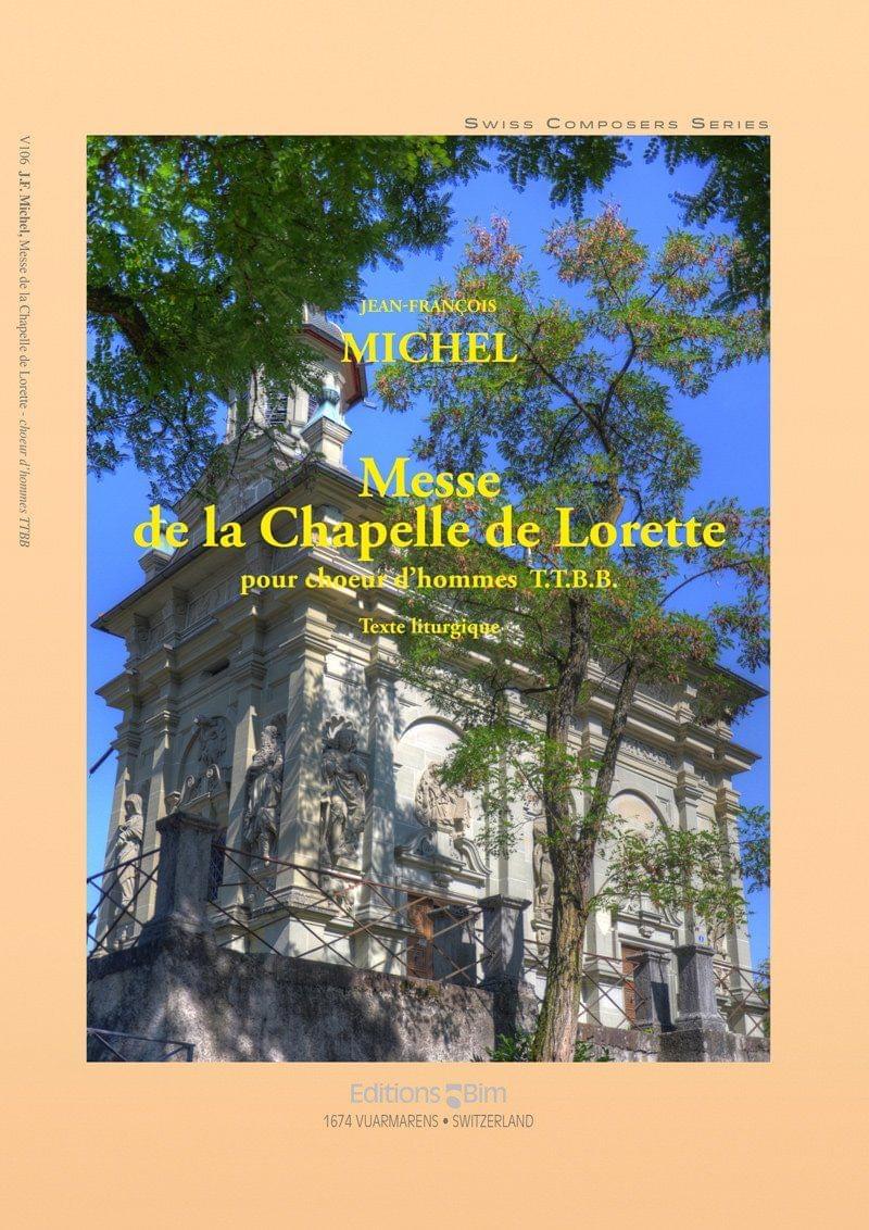 Michel Jean Francois Messe Chapelle Lorette V106